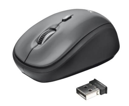 YVI WIRELESS MOUSE - BLACK