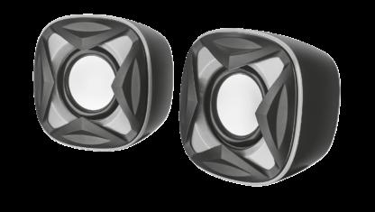 XILO COMPACT 2.0 SPEAKER SET - BLACK